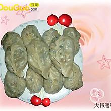 韭菜鲜肉蒸饺
