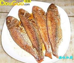 煎封红三鱼的做法