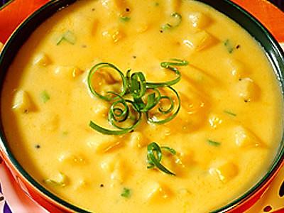 法式玉米浓汤的做法