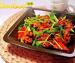 精品菜:红椒鸡的做法