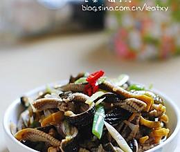 芥末炝鳝丝的做法