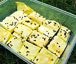 日式厚蛋烧--户外美食的做法