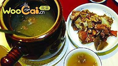 粟米牛月展汤的做法