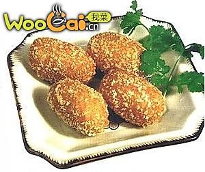 香麻薯蓉枣的做法