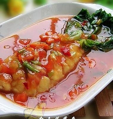 金玉菠萝鱼---美丽厨娘的做法