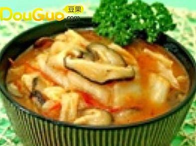 大白菜炖番茄的做法