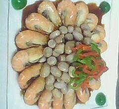美极生仁虾的做法
