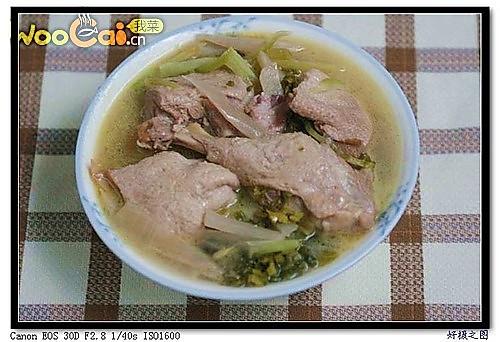 酸菜老鸭汤的做法