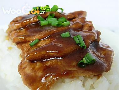 简易版的煎猪排 酱汁猪排的做法