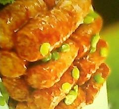 豆皮香肠卷的做法