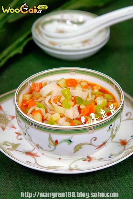 酸汤冷面--高温天气开胃菜的做法