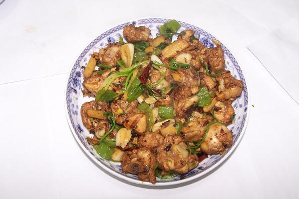 原创私房菜——干爆鸡的做法