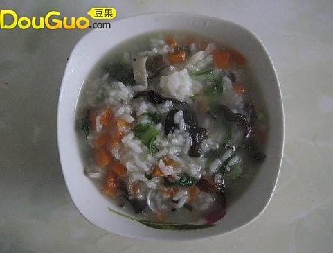 养身蔬菜粥的做法