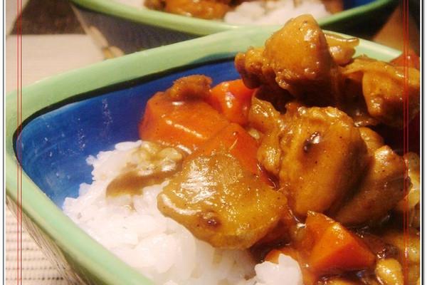 美丽厨娘-咖喱鸡肉的做法