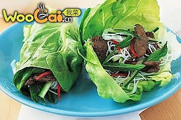 东南亚牛肉生菜包的做法