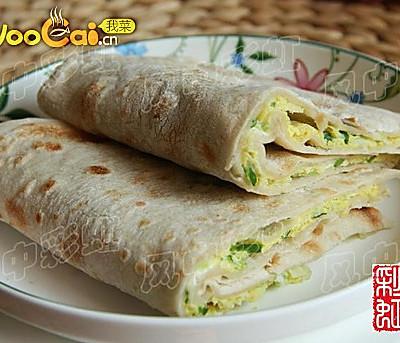 美食早餐:鸡蛋灌饼
