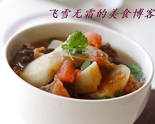 牛肉西红柿汤的做法