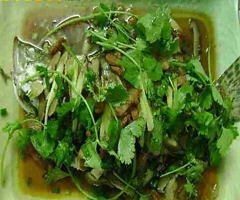 古法蒸桂鱼的做法