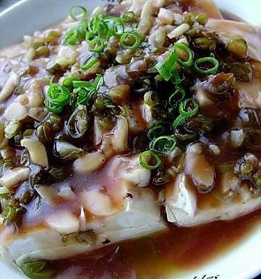剁椒蒸柴火豆腐的做法