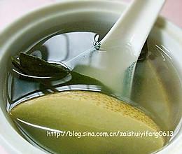 甜口也是良药(适合小孩子喝的咳嗽偏方):川贝炖梨的做法