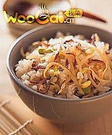 黄豆芽饭的做法