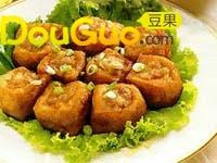 鲜酿豆卜(油豆腐)的做法