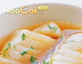 米醋萝卜菜的做法