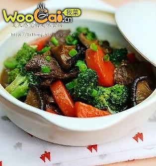 牛肉蔬菜煲的做法