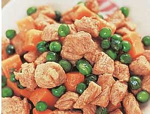 酥豌豆炒牛肉的做法