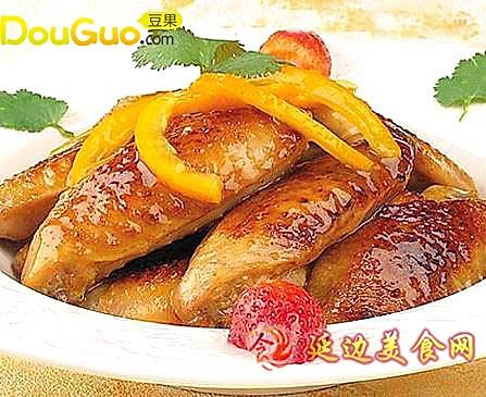 香橙鸡翅的做法