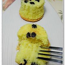 蓝莓海绵小蛋糕