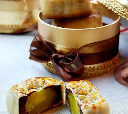 红豆沙蛋黄月饼——中秋月饼的做法