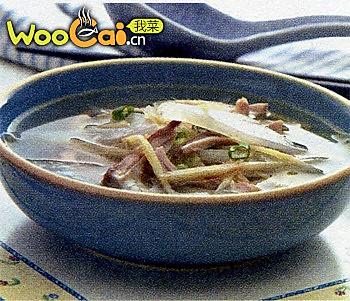 猪肚萝卜汤