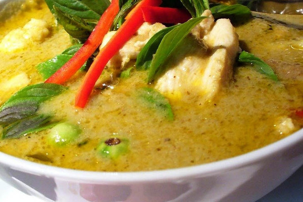 泰式青咖哩鸡的做法