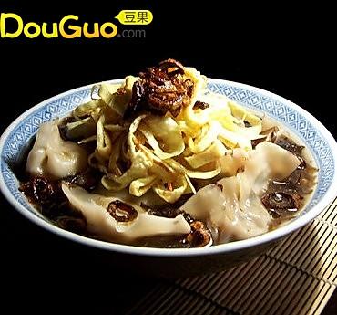 梅菜汤饺的做法