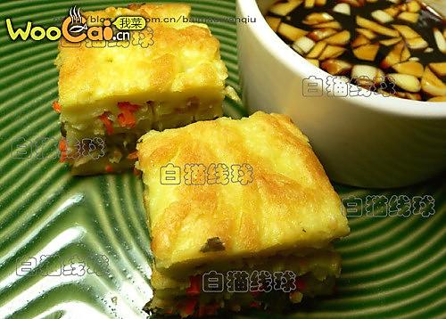 厚蛋茶香煎饼的做法