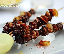 蚝油洋葱牛肉串的做法