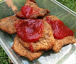 黑胡椒猪排--户外美食的做法