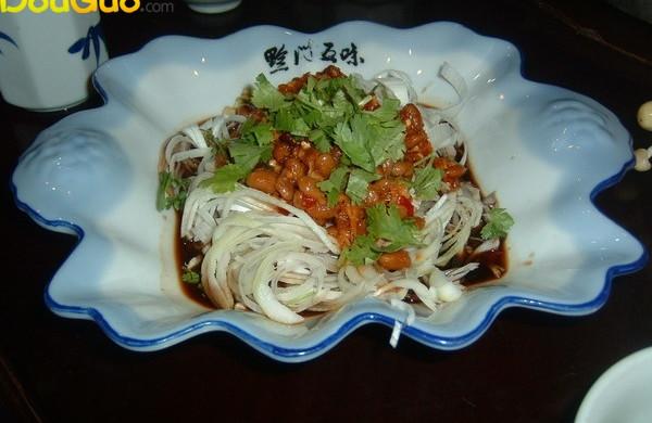风味水豆豉拌大葱(黔菜出山)