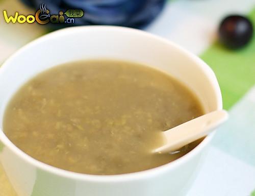 冰糖绿豆沙的做法