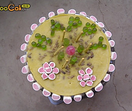 真心实意生日蛋糕的做法
