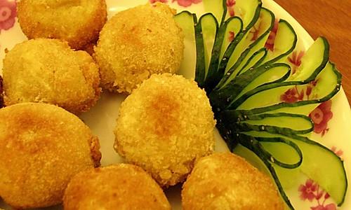 黄金薯泥酥的做法