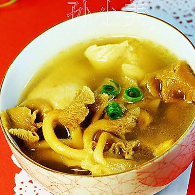 秋季大补——黄蘑鸡汤的做法