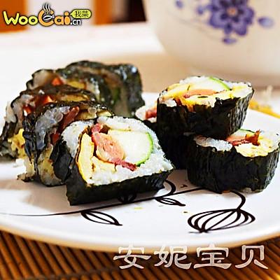 安妮宝贝私房菜-DIY日本寿司