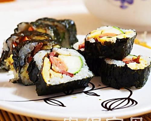 安妮宝贝私房菜-DIY日本寿司 的做法