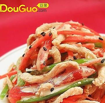 麻香番茄鸡丝的做法