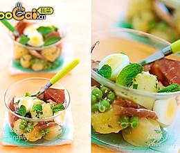 土豆火腿沙拉的做法