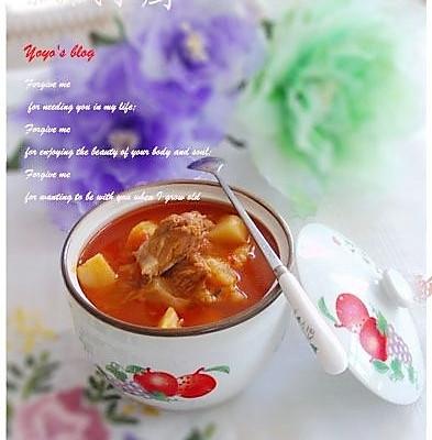 美丽厨娘-番茄牛腩汤--为健康护航的做法