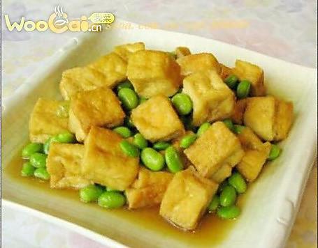 毛豆臭豆腐的做法