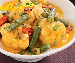 泰式花菜的做法